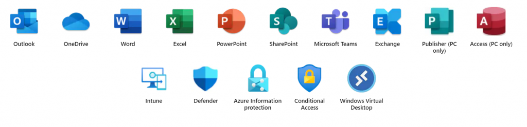 Microsoft Apps and Services