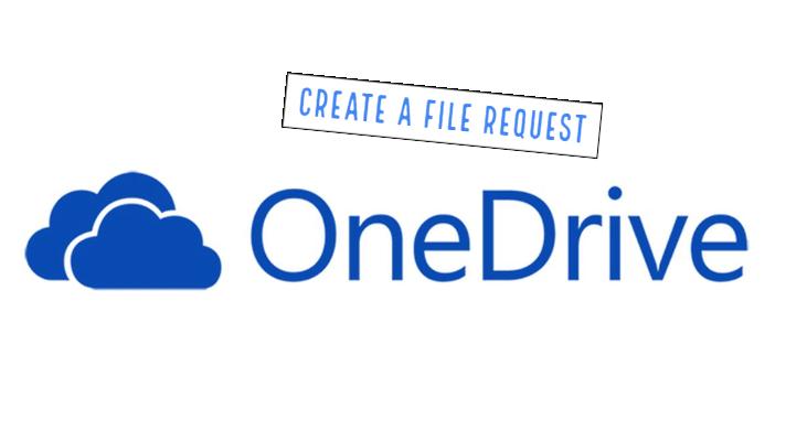 Create a file request in OneDrive